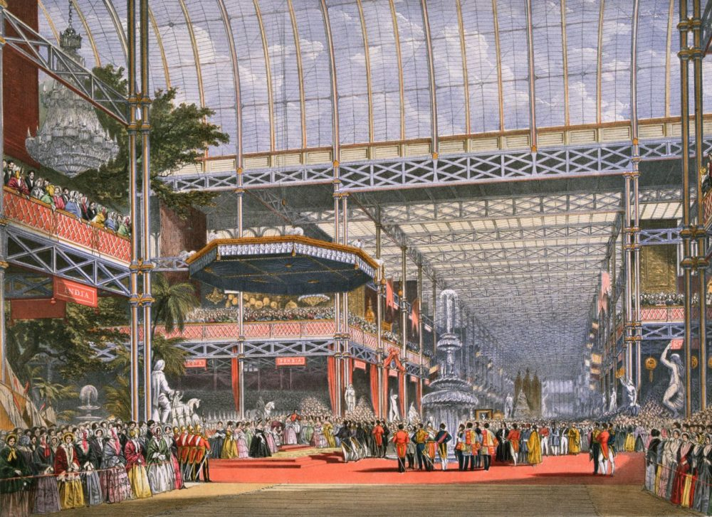In 1851, chess players gathered at London's new Crystal Palace for a first of its kind competition... (Hulton Archive/Getty Images)