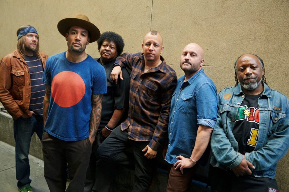 Ben Harper (second from left) and his band the Innocent Criminals. (Ben Harper Facebook)