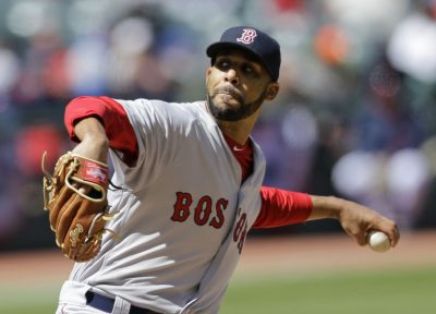 Boston Red Sox starting pitcher David Price. (Tony Dejak/AP)