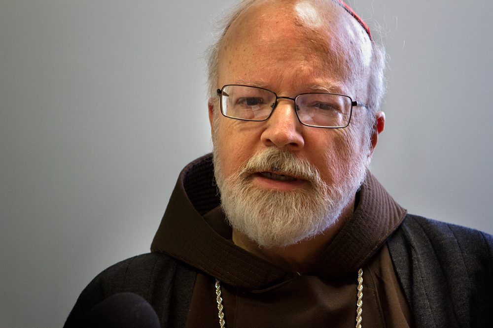 Cardinal Sean O'Malley in 2012. (Jesse Costa/WBUR)
