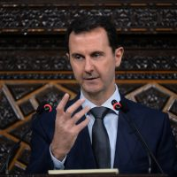 "Susan Reed: ""Assad has murdered his people with everything from barrel bombs to chemical weapons, and he must be stopped. But sending missiles in to blow up his government is not the right way."" Pictured: In this photo released by the Syrian official news agency SANA, Syrian President Bashar Assad, addresses a speech to the newly-elected parliament at the parliament building, in Damascus, Syria, Tuesday, June 7, 2016. Assad has vowed to liberate every inch of the country the way government forces captured the historic town of Palmyra from the Islamic State group. (SANA via AP)"