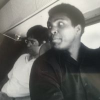 The author pictured with Muhammad Ali in July, 1974. (Co Rentmeester/courtesy)