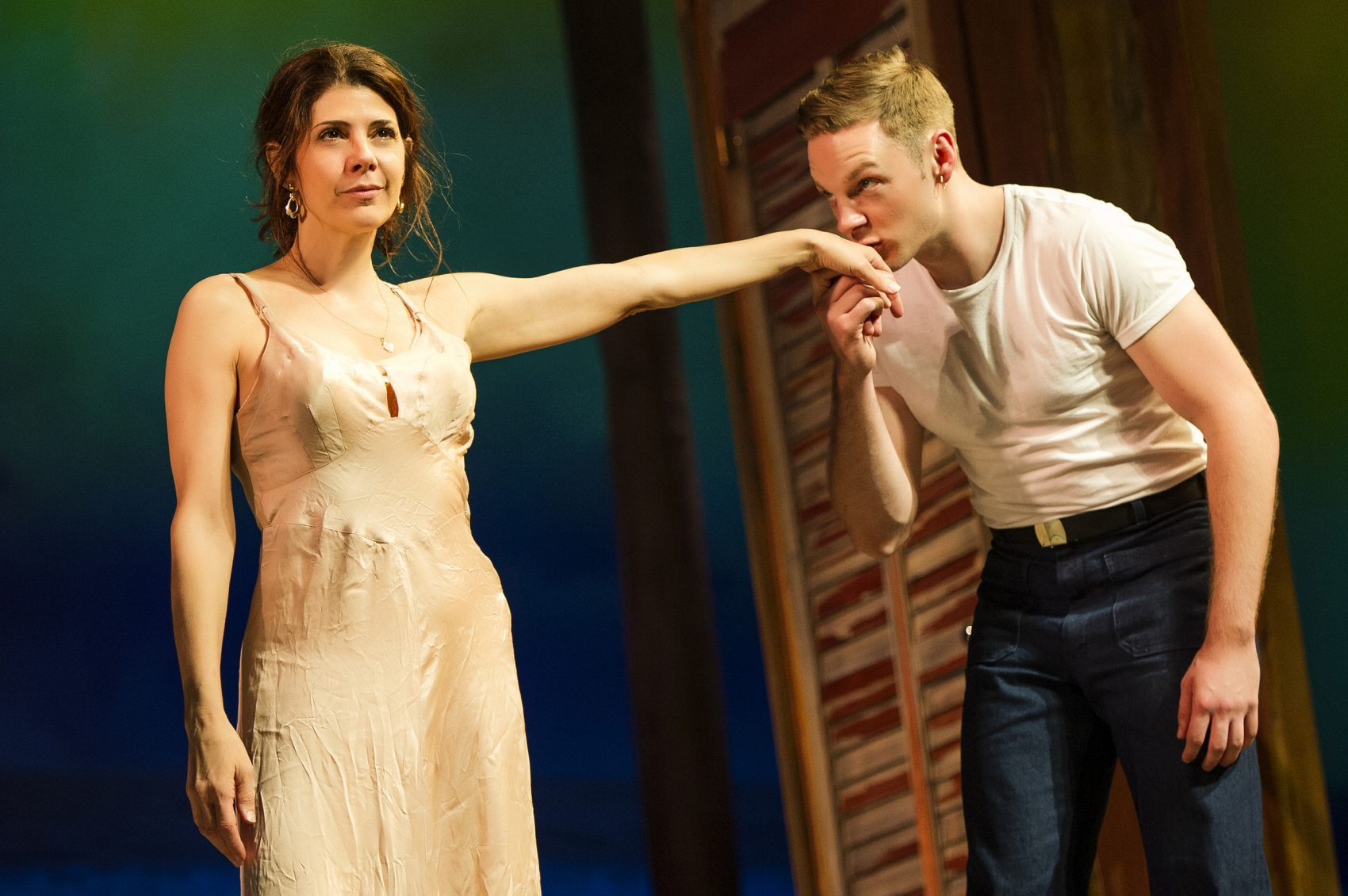 Marisa Tomei and Will Pullen. (Courtesy Daniel Rader/Williamstown Theatre Festival)