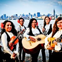 The members of all-female mariachi band Flor de Toloache (Courtesy the Artist).