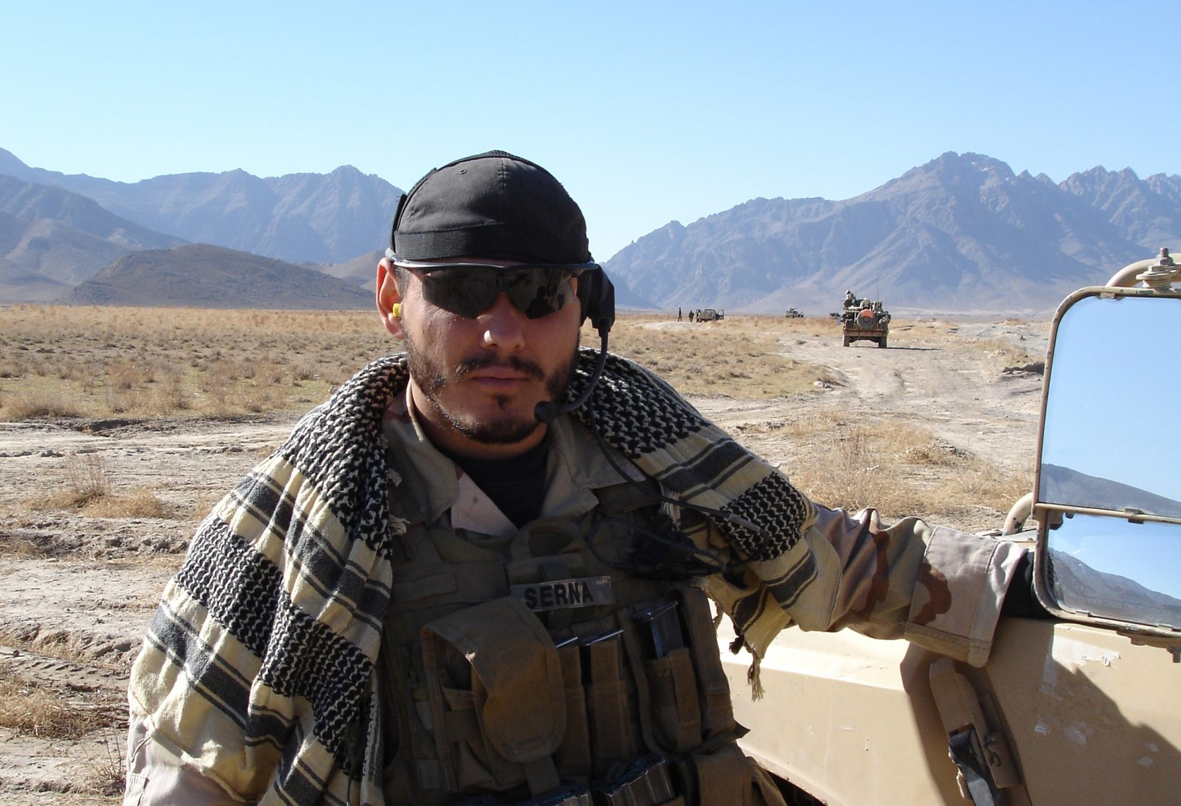 Joe Serna in Afghanistan (Courtesy of Joe Serna)