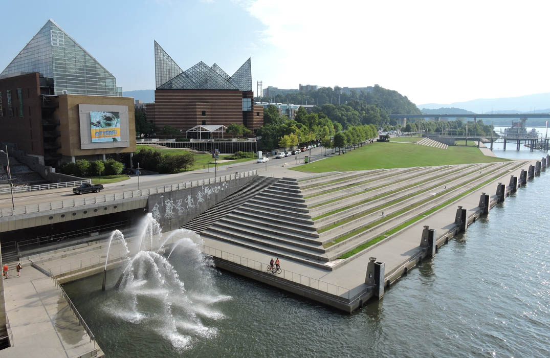 The 21st Century Waterfront in Chattanooga, Tenn. (Courtesy)