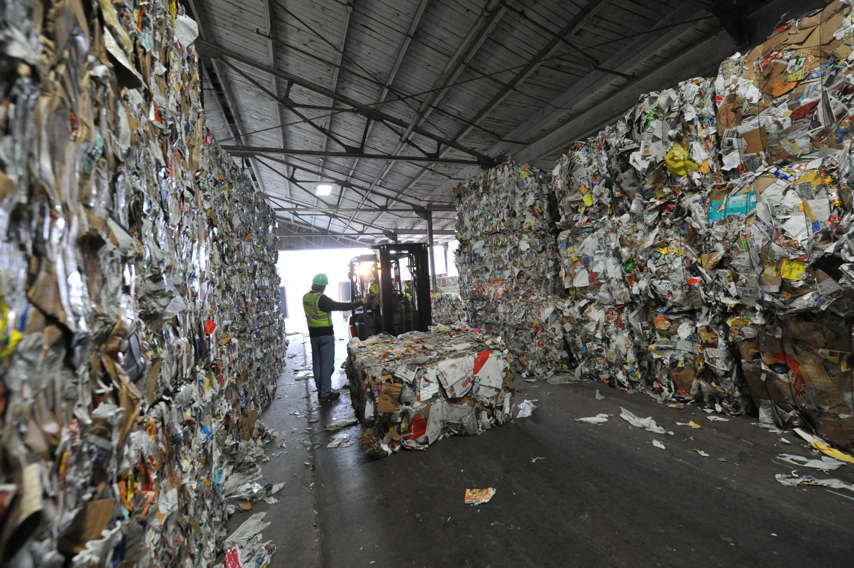 As online retailers like Amazon continue to grow, companies like Waste Management -- the largest disposal company in the U.S. -- have to adapt. (Courtesy Waste Management)