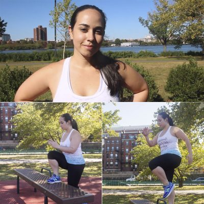 Andrea Ansuaje tapered off medication and managers her mood with daily exercise. (Courtesy)