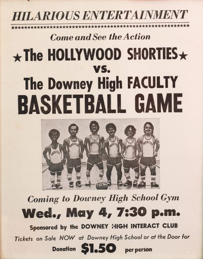 Printed in 1977, this is the very first event promotion poster for a Shorties game. (Courtesy Ryan Steven Green)