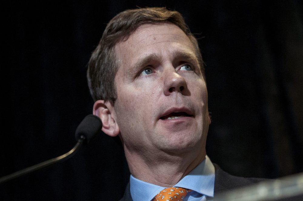 Rep. Robert Dold (R-IL) speaks at an event on Feb. 9, 2016 in Washington. (Gabriella Demczuk/Getty Images)