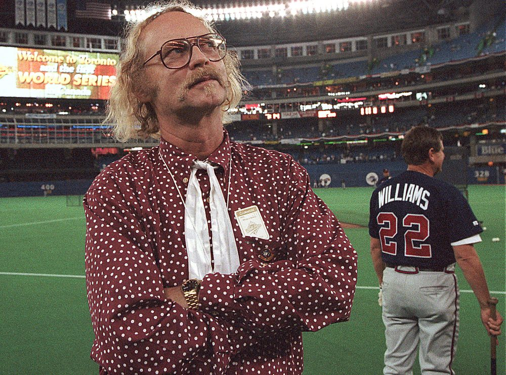 "In the short story ""The Last Pennant Before Armageddon,"" Canadian author W.P. Kinsella writes about the Chicago Cubs -- and the fate of the world. (Rusty Kennedy/AP)"