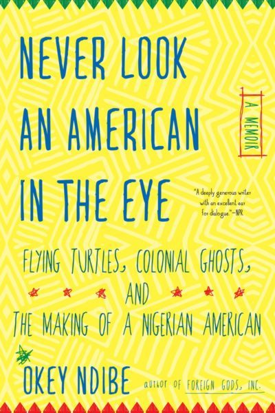 Never Look An American In The Eye by Okey Ndibe. (Courtesy Soho Press)