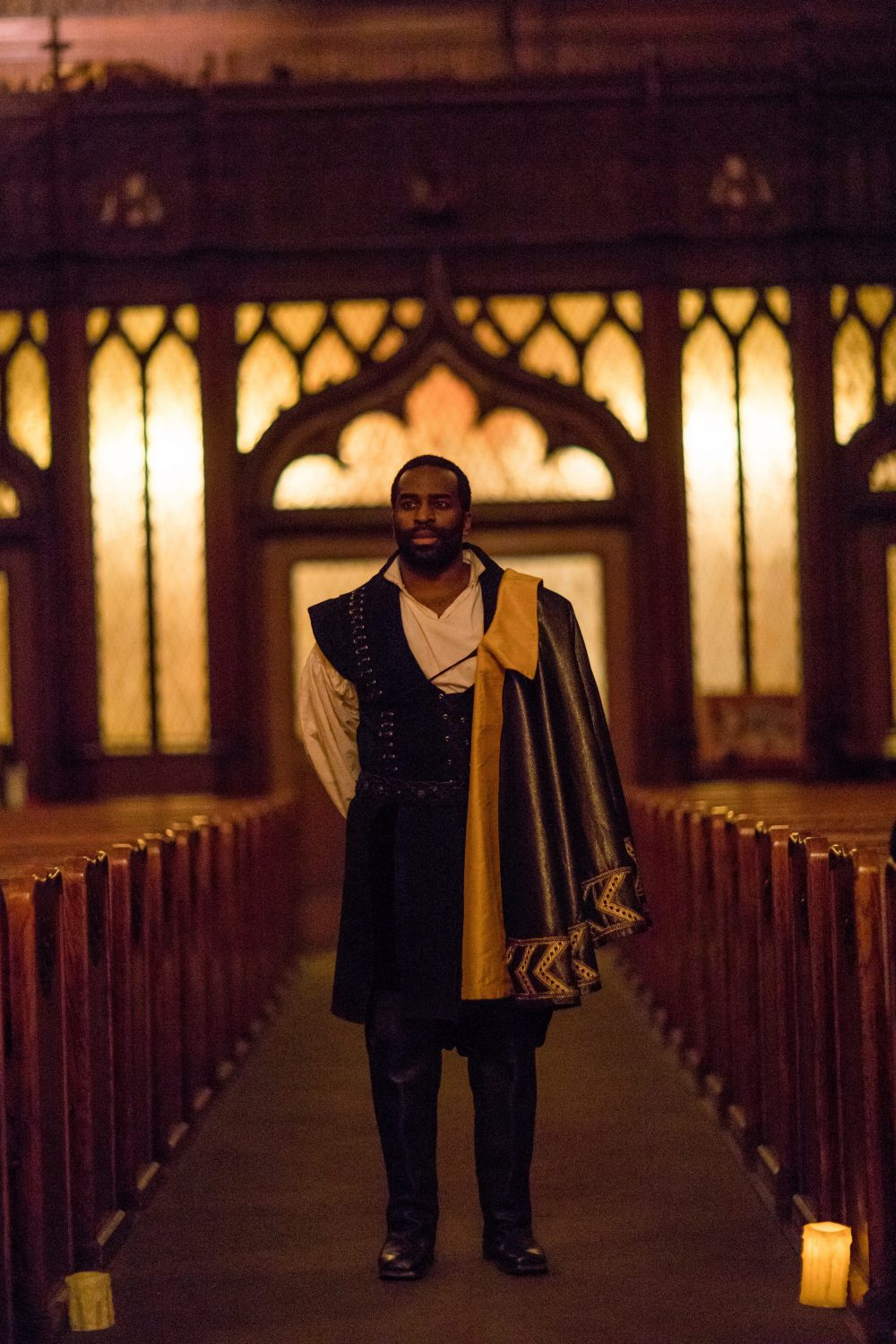 Omar Robinson. (Courtesy Nile Scott/Actors' Shakespeare Project)
