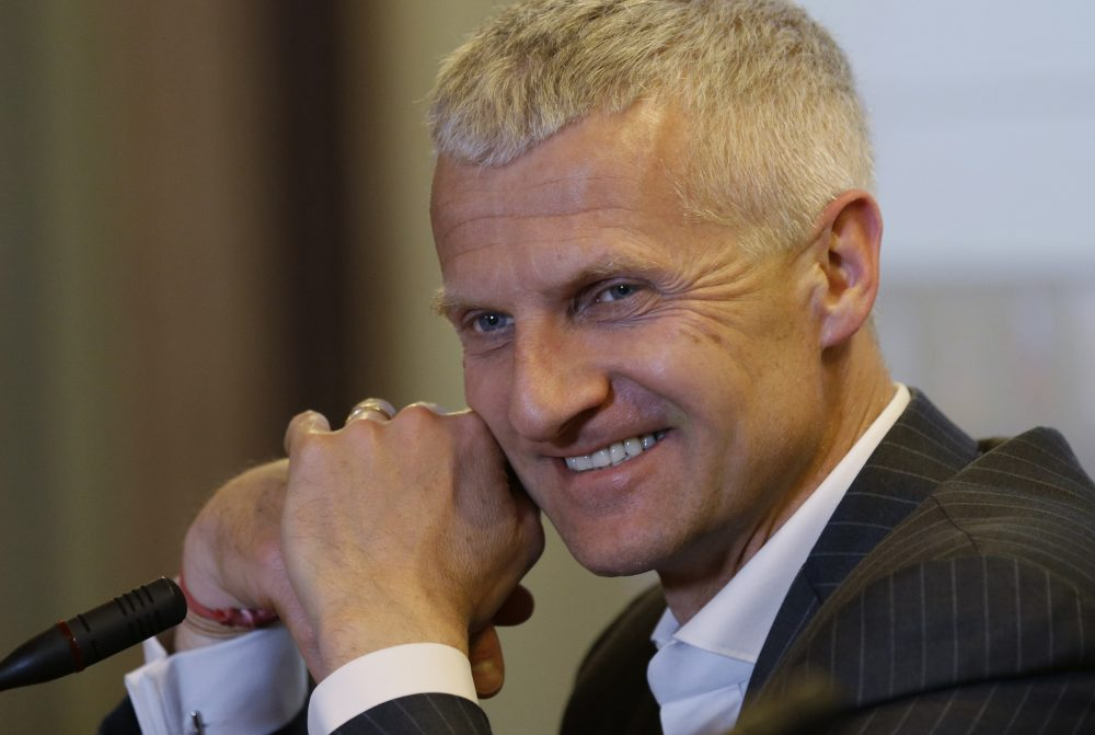 Andrea Illy, chairman and CEO of illycaffè. (Luca Bruno/AP)