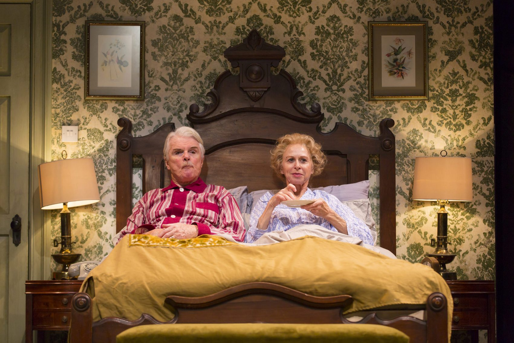 bedroom farce. Malcolm Ingram  as Ernest and Patricia Hodges Delia in Bedroom The Huntington Mines 70s Gold From Farce ARTery