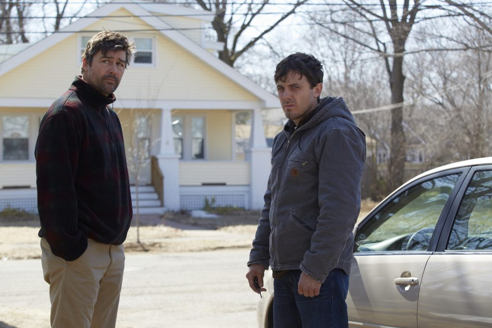 "Kyle Chandler and Casey Affleck in ""Manchester by the Sea."" (Courtesy Claire Folger/Amazon Studios and Roadside Attractions)"