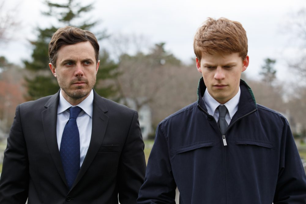 "Casey Affleck as Lee and Lucas Hedges as Patrick in ""Manchester by the Sea."" (Courtesy Claire Folger/Amazon Studios and Roadside Attractions)"