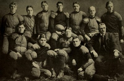 Harvard University's 1901 football team. (Internet Archive Book Images/Flickr)
