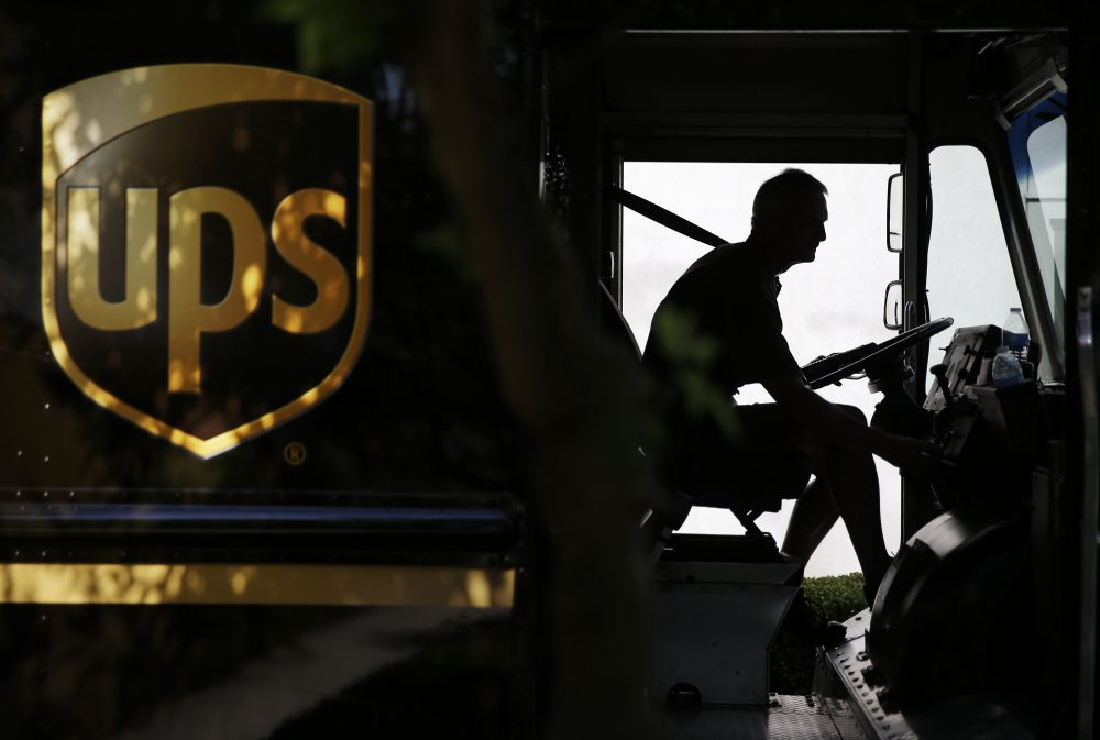 In this June 20, 2014, file photo, a United Parcel Service driver starts his truck after making a delivery in Cumming, Ga. UPS is one of many employers whose employees the International Brotherhood of Teamsters represents. (David Goldman/AP)