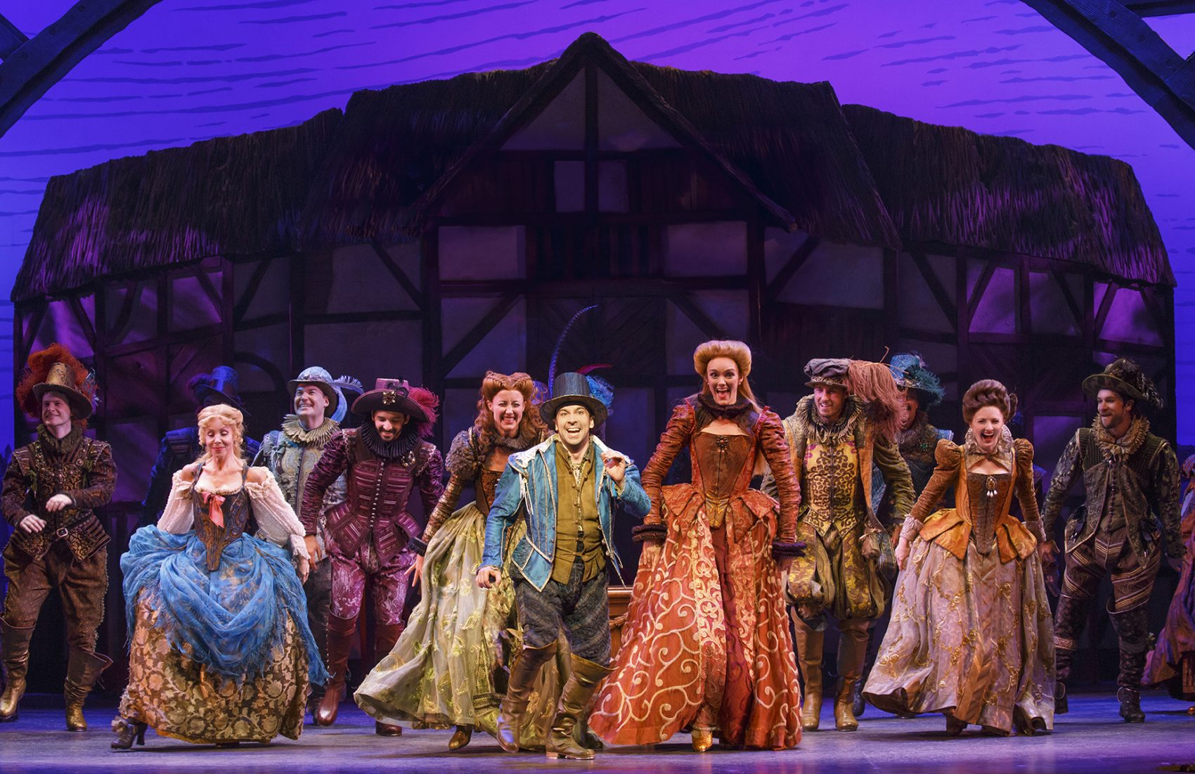 there is something rotten in the Something fresh something rotten,  the cast of something rotten is  there is a scene in the second act with 2 characters reading.