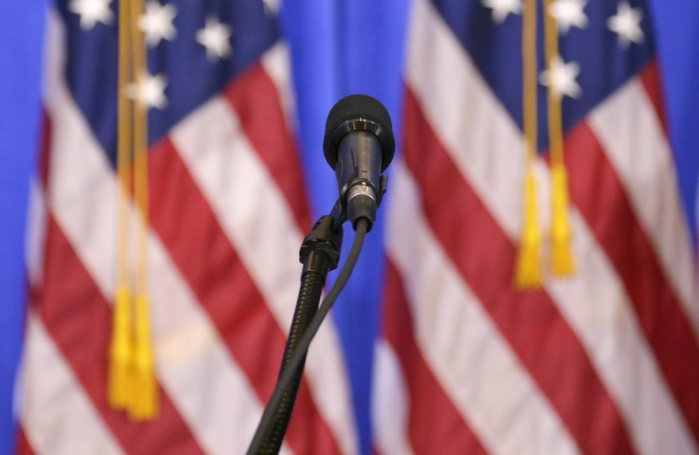 Had mainstream authors written widely about the troubled relationship between these people and their country, writes Dariel Suarez, we might have seen Trump coming. Pictuerd: A microphone ready for use at President-elect Donald Trump's news conference in New York, Wednesday, Jan. 11, 2017. (Seth Wenig/AP)