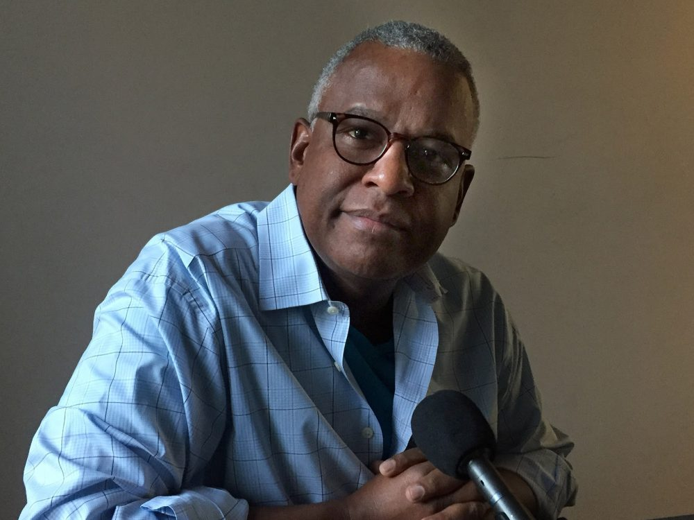 Documentary filmmaker Clennon L. King. (Delores Handy/WBUR)
