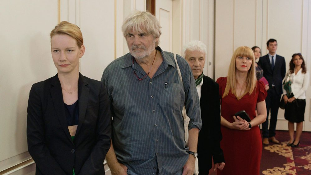 "A scene from ""Toni Erdmann,"" which is up for an Oscar in the Best Foreign Language Film category. (Courtesy Sony Pictures Classics)"