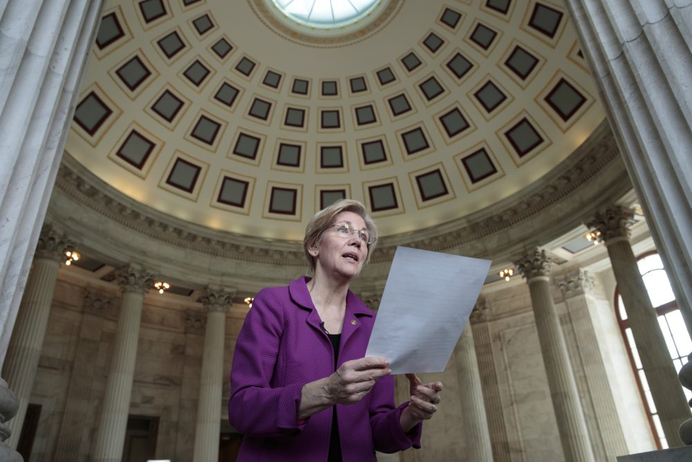 Millions of women who have felt voiceless for too long have found the club of their own collective power, writes Lauren Still Rikleen.  Pictured: Holding a transcript of her speech in the Senate Chamber, Sen. Elizabeth Warren, D-Mass. reacts to being rebuked by the Senate leadership and accused of impugning a fellow senator, Attorney General-designate, Sen. Jeff Sessions, R-Ala., Wednesday, Feb. 8, 2017, on Capitol Hill in Washington. (J. Scott Applewhite/AP)  Use Information This content is intended for editorial use only. For other uses, additional clearances may be required.  ID: 17039615979629 Creation Date: February 08, 2017 06:26:46 AM Submission Date: February 08, 2017 05:09:02 PM Photographer: J. Scott Applewhite Source: AP Credit: ASSOCIATED PRESS Resolution: 5472 x 3648 8.25 MB Person: Elizabeth Warren Subject: Government and politics, Legislature Location: Washington, DIST. OF COLUMBIA, UNITED STATES Transmission Reference: DCSA110 Byline Title: STF Caption Writer: JSA Usage Notes: This content is intended for editorial use only. For other uses, additional clearances may be required.