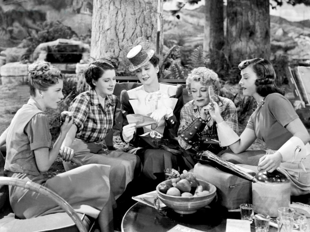 "A scene from ""The Women"" (1939). (Courtesy The Brattle)"