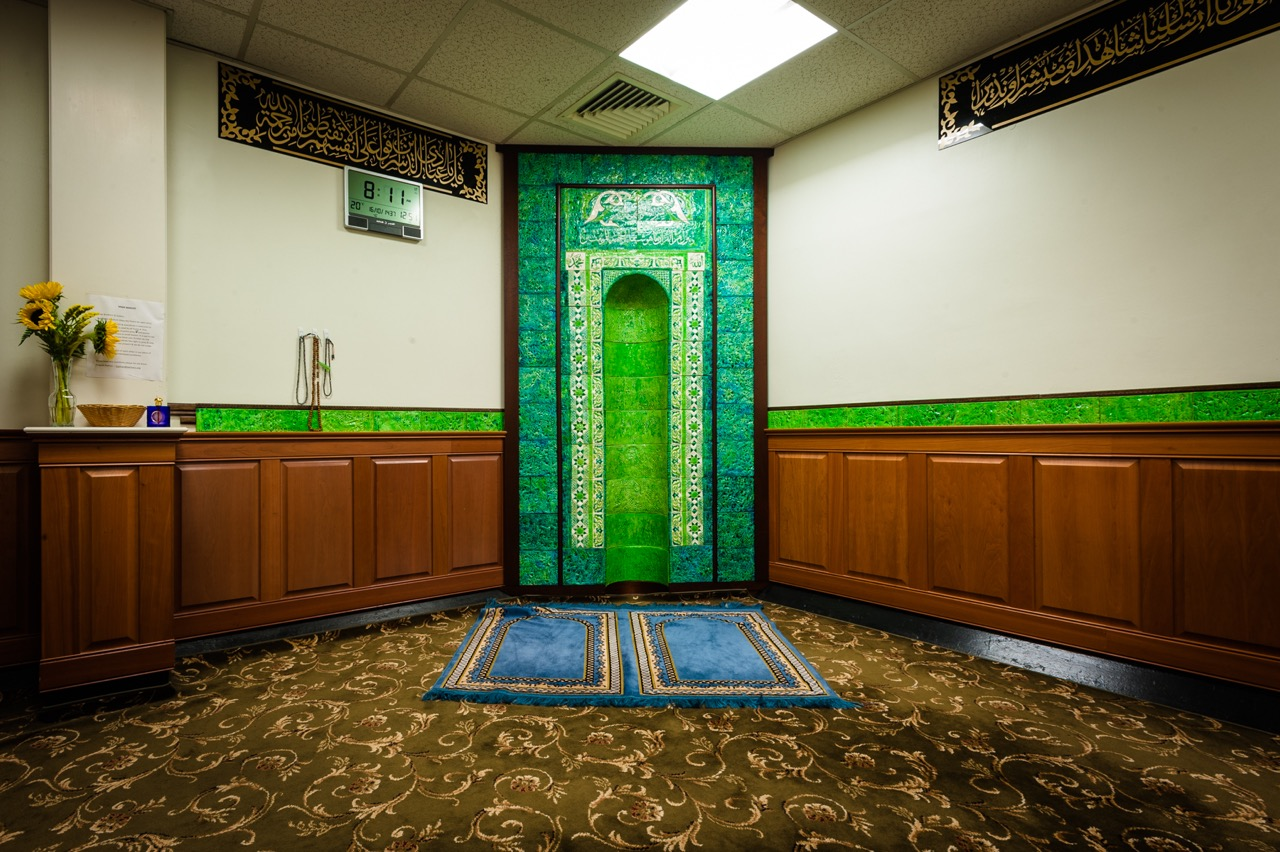 Muslim Prayer Room, Massachusetts General Hospital, Boston. Credit: Randall Armor)