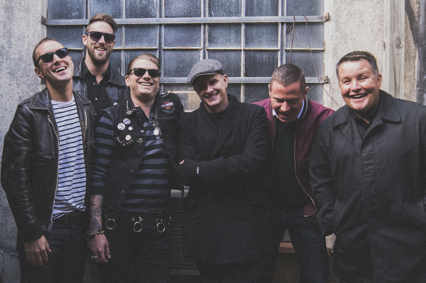 The six members of the Dropkick Murphys. (Courtesy Ashton-Magnuson Media)