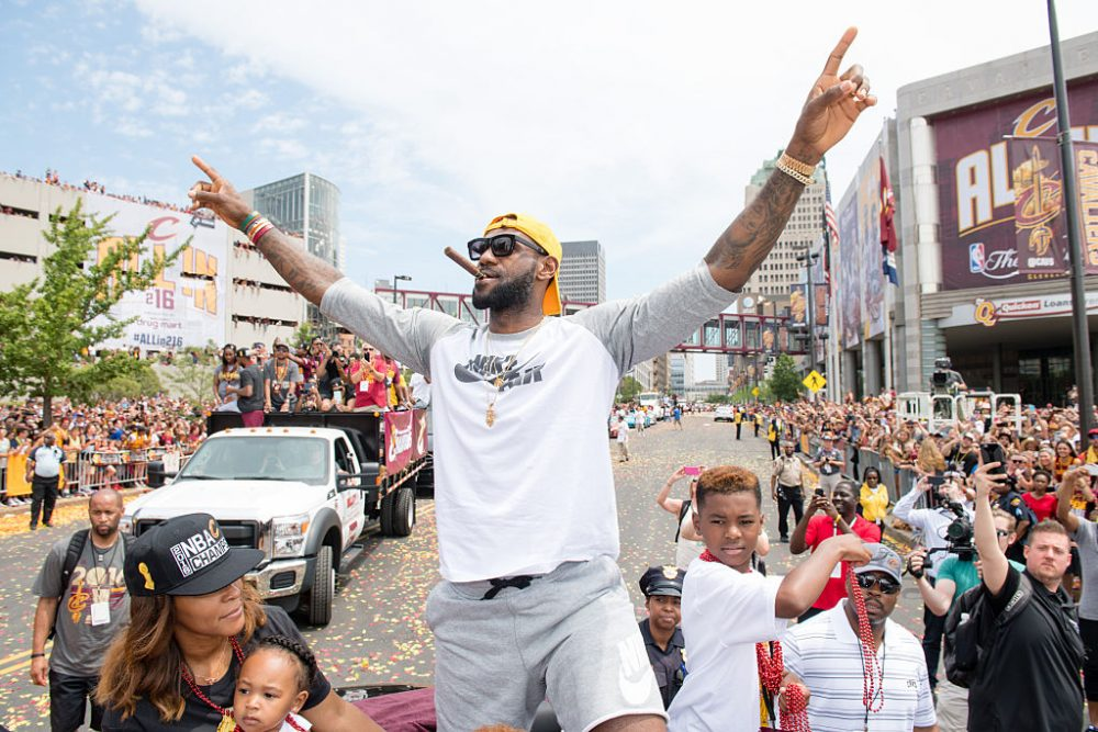 LeBron James brought a championship to Cleveland in 2016. (Jason Miller/Getty Images)