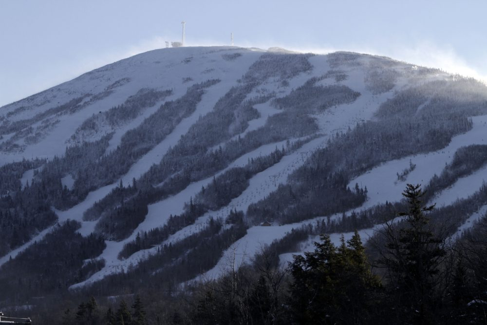 Sugarloaf mountain in Carrabasset Valley, Maine, is seen on Dec. 28, 2010. (Pat Wellenbach/AP)