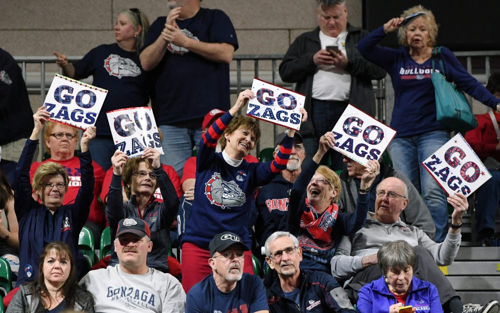 Gonzaga fans are hopeful that their beloved Zags can reach the Final Four.  (Ethan Miller/Getty Images)