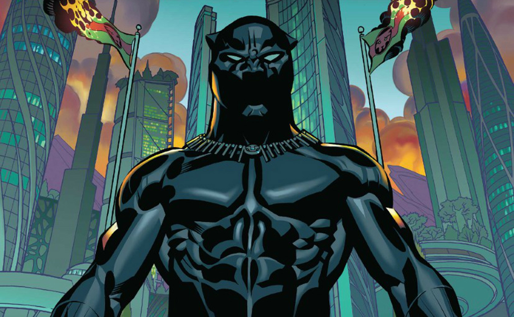"Comic books now feature more diverse superheroes, writes John Vercher, unlike most cartoons and merchandise. Pictured: The cover of ""Black Panther: A Nation Under Our Feet, Book 1,"" written by author Ta-Nehisi Coates, winner of the National Book Award. (Courtesy of Marvel)"