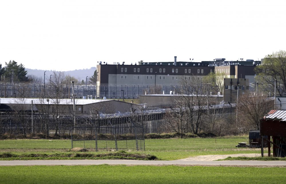The Souza-Baranowski Correctional Center as seen on April 19, 2017, in Shirley, Massachusetts. Former NFL star Aaron Hernandez, who was serving a life sentence for a murder conviction, died after hanging himself at the prison early Wednesday. (Elise Amendola/AP)