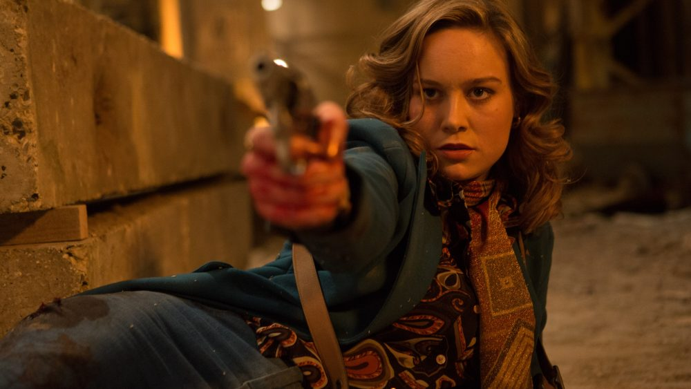 "Brie Larson as Justine in ""Free Fire."" (Courtesy Kerry Brown/A24)"