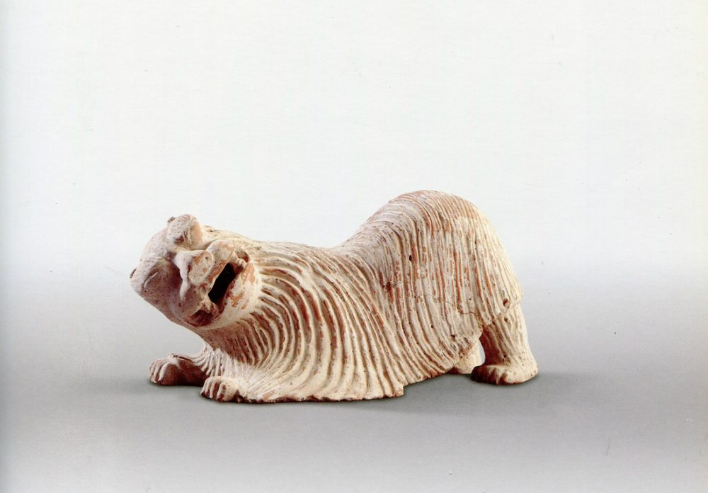 The art market's opacity, write Liza Oliver and Erich Hatala Matthes, makes it a welcoming home for illegal transactions. Pictured: This pottery piece from 7th century China, during the early Tang dynasty, is owned by Nicholas Grindley Works of Art and on display during Asia Week New York.  (Courtesy Asia Week New York)