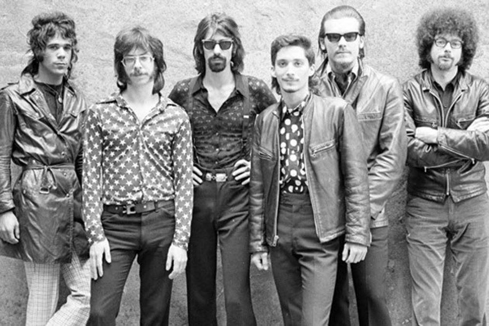 An archival photo of the J. Geils Band. (Courtesy J. Geils Band via Facebook)