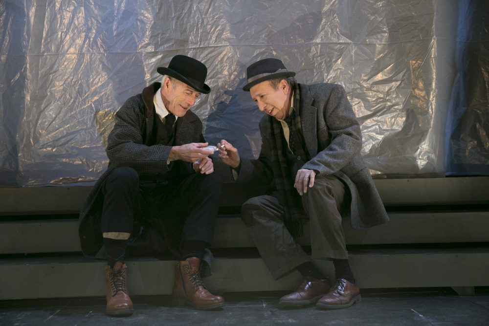 "Will Lyman and Ken Baltin in ""The Old Tune."" (Courtesy Evgenia Eliseeva)"
