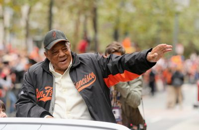 Willie Mays turns 86 years old this weekend.  (Ezra Shaw/Getty Images)