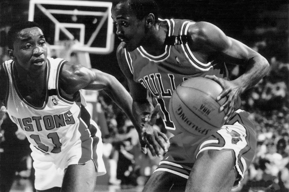 "Craig Hodges says that when he was released by the Chicago Bulls in 1992, ""everybody in the league knew it wasn't about [his] game."" (Robert Furnace)"
