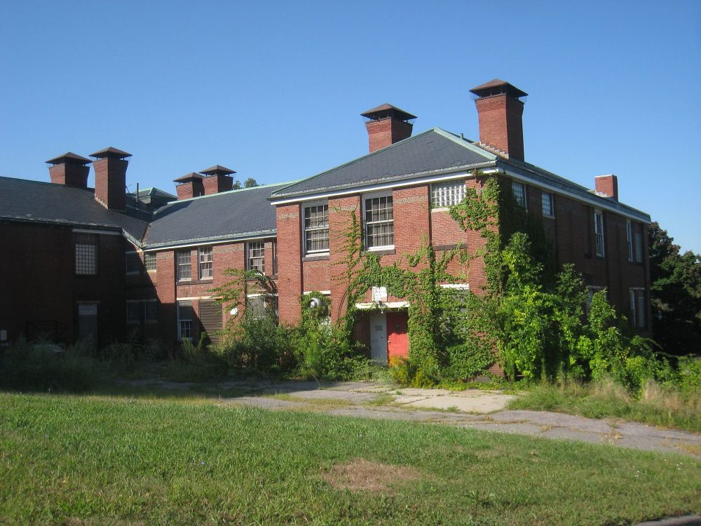 The intellectually disabled, Susan Senator writes, could lose all they've gained if the Affordable Care Act is repealed. Pictured: The Walter E. Fernald State School, later called the Walter E. Fernald Developmental Center, in Waltham (Daderot/Wikimedia Commons)