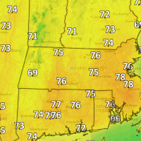 Look for pleasantly warm temperatures on Tuesday. (Dave Epstein/WBUR)