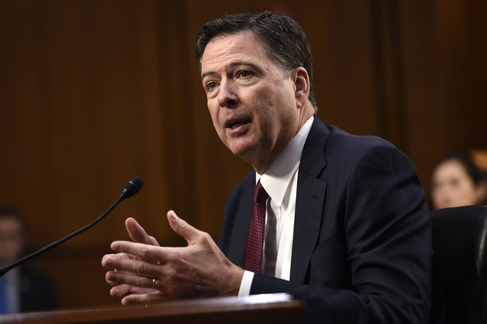 Comey says circumstances in firing him is confusing