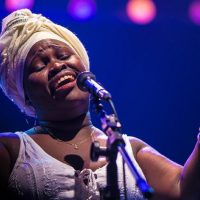 Cuban artist Daymé Arocena. (Courtesy Pedro Margherito)