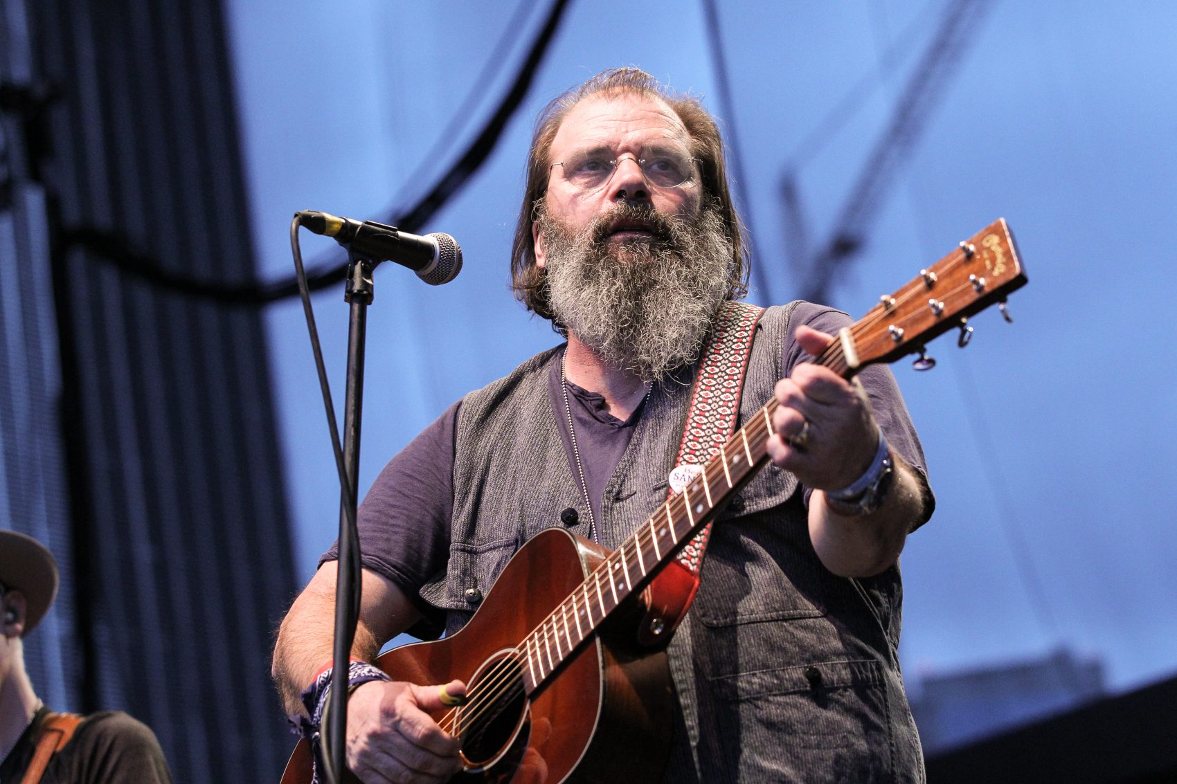 Steve Earle performs during the 16th Annual Americana Music Festival & Conference in Nashville.  (Terry Wyatt/Getty Images for Americana Music)