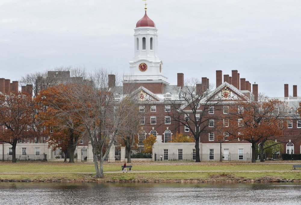 Harvard University campus in Cambridge (Lisa Poole/AP/File)