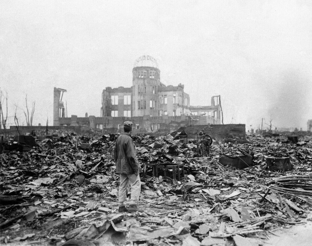 72nd Anniversary of the first atomic bomb in Hiroshima