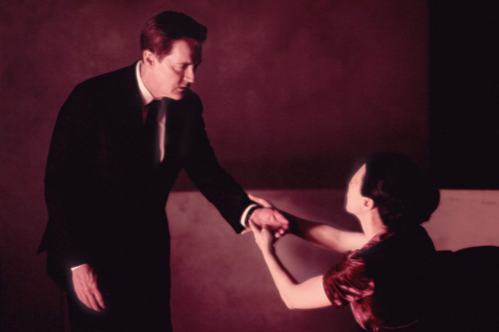 "Kyle MacLachlan and Nae Yuuki in Episode 3 of the return of ""Twin Peaks."" (Courtesy Suzanne Tenner/Showtime)"
